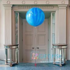 Большие шары Агаты Синий
