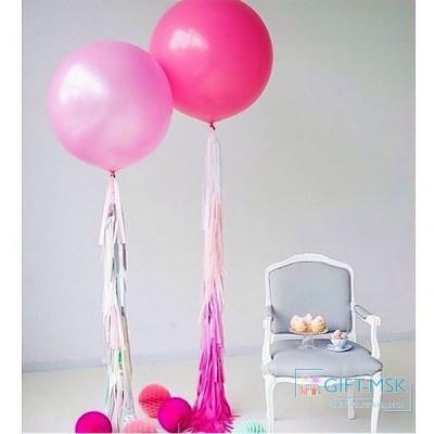 Большие шары Розовые