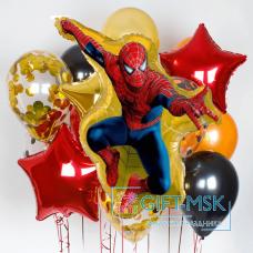 Букет из шаров Человек паук