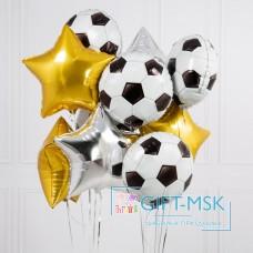 Букет из шаров Звезды футбола