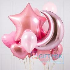 Букет из шаров Pink