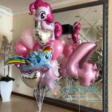 Композиция из шаров  My Little Pony