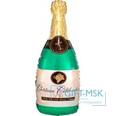 Фольгированная фигура Бутылка  Шампанское вино