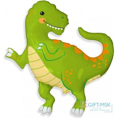Фольгированная фигура Веселый динозаврик