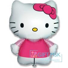 Фольгированная фигура Hello Kitty Котенок с бантиком