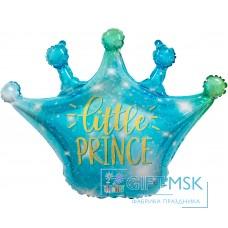 Фольгированная фигура Корона Маленькая Принц