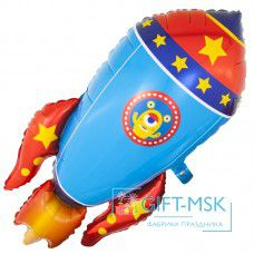 Фольгированная фигура Космическая ракета