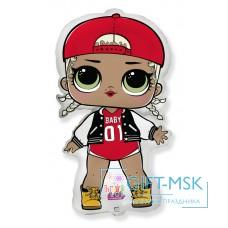 Фольгированная фигура Кукла LOL  Модная подружка