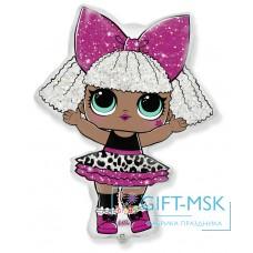 Фольгированная фигура Кукла LOL Роскошная Дива