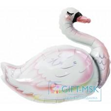 Фольгированная фигура Лебедь