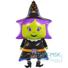Фольгированная фигура Маленькая ведьмочка