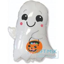 Фольгированная фигура Привидение на Хэллоуин