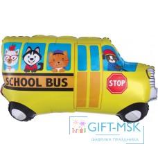 Фольгированная фигура Школьный автобус