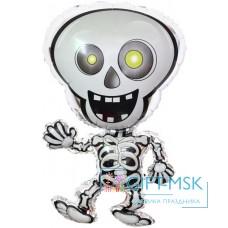 Фольгированная фигура Танцующий скелет