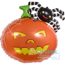 Фольгированная фигура Тыква и паук
