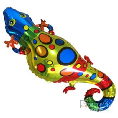 Фольгированна фигура Ящерица