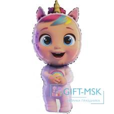 Фольгированная фигура Кукла Cry Babies