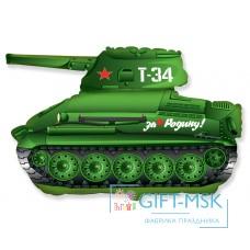 Фольгированная фигура Танк Т-34