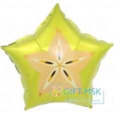 Фольгированная звезда Карамбола