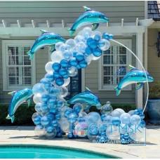 Фотозона Счастливый дельфин