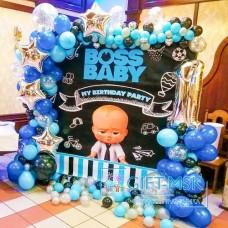 Фотозона для мальчика Boss Baby