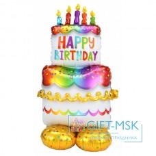 Ходячая фигура Happy Birthday Торт