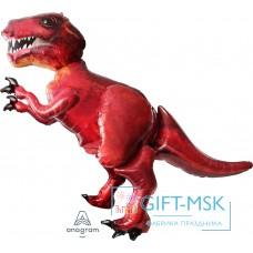 Ходячая Фигура Динозавр Красный