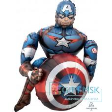 Ходячая Фигура Мстители Капитан Америка