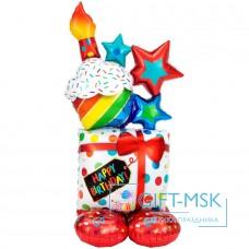 Ходячая Фигура Кекс, С днем рождения!