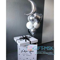 Коробка с шарами Лунная соната