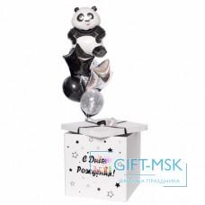 Коробка с шарами Панда
