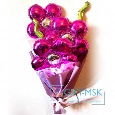 Крафтовый букет из шаров Букет цветов
