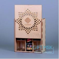 Коробка для бутылки 10003
