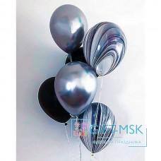 Хромированные шары с агатами