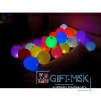 LED шары на пол Ассорти